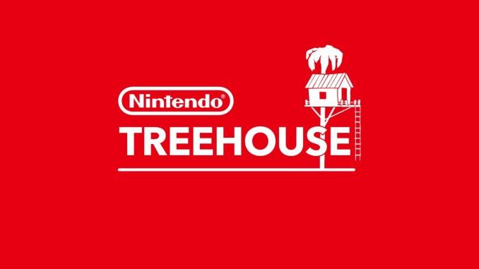 Das Bild zeigt das Logo von Nintendo Treehouse, die beliebte Präsentation zur E3.