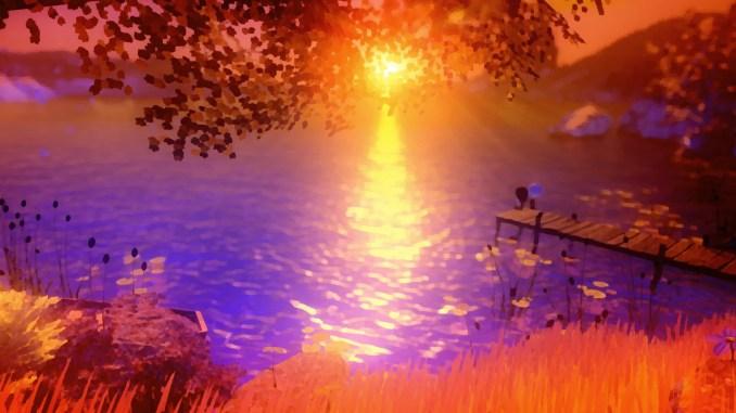 """Das Bild zeigt eine Szene aus dem Spiel """"Last Day of June""""."""