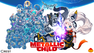 """Das Bild zeigt das Logo von """"Metallic Child""""."""