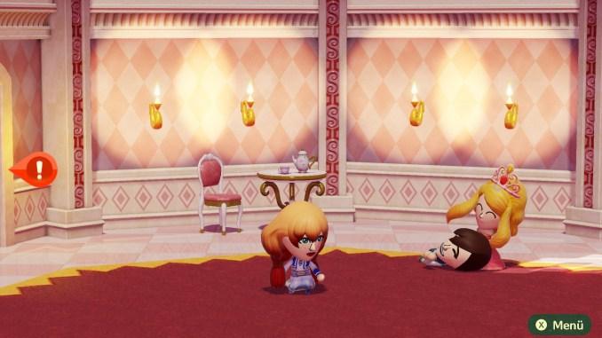 Das Bild zeigt eine Sequenz aus dem Schloss Anfangs.