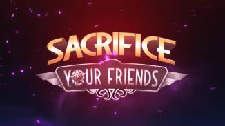 """Das Bild zeigt das Logo von """"Sacrifice Your Friends""""."""