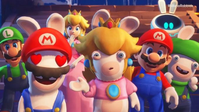 """Das Bild zeigt den Nachfolger zu """"Mario + Rabbids Kingdom Battle"""", welcher bei den Digital Deals im Angebot ist."""