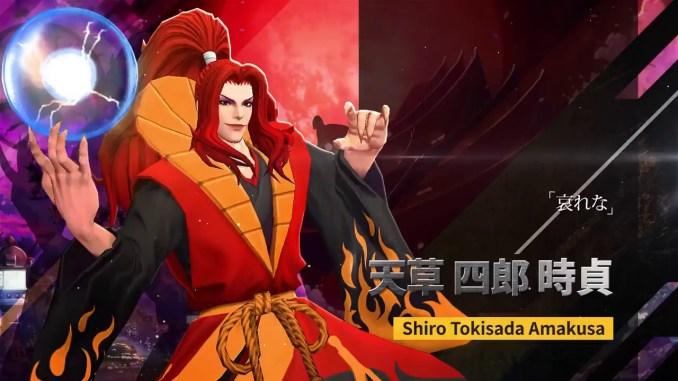 """Das Bild zeigt den neusten Charakter aus dem Spiel """"Samurai Shodown""""."""