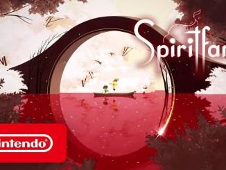 """Das Bild zeigt das Logo von """"Spiritfarer""""."""