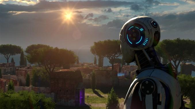 """Das Bild zeigt eine Szene aus dem Spiel """"The Talos Principle""""."""