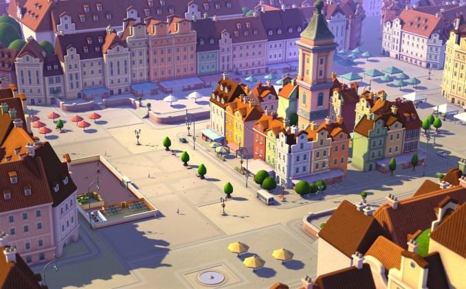 """Das Bild zeigt eine Szene aus dem Spiel """"Two Point Campus""""."""