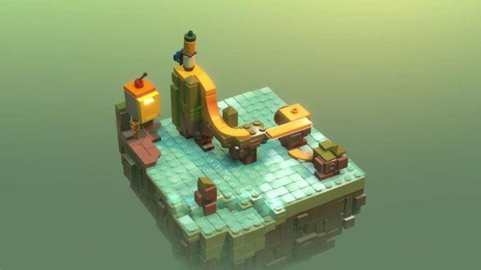 """Das Biuld zeigt ein Rätselmotiv aus dem Spiel """"LEGO Builder´s Journey"""""""