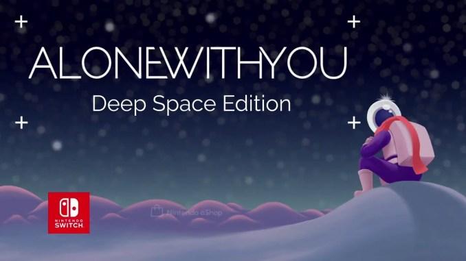 """Das Bild zeigt das Logo von """"Alone With You""""."""