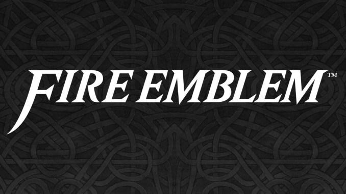 Das Bild zeigt das Loge von Fire Emblem. Ein RPG-Spiel