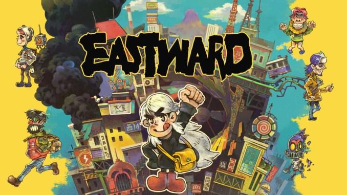 Das Bild zeigt das Titelbild des Spiels Eastward