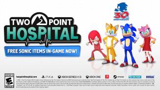 """Das Bild zeigt das neuste Logo vom """"Two Point Hospital""""."""