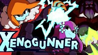 """Das Bild zeigt das Logo von """"Xenogunner""""."""