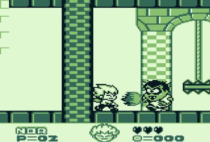 Das Bild zeigt einen Screen von Kid Dracula.