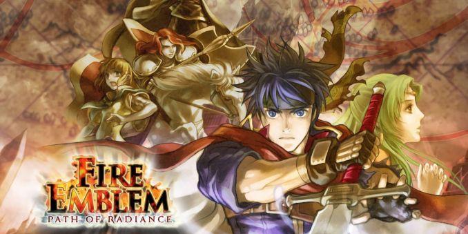 Das Bild zeigt das  Titelbild des Spiels Fire Emblem Path of Radiance