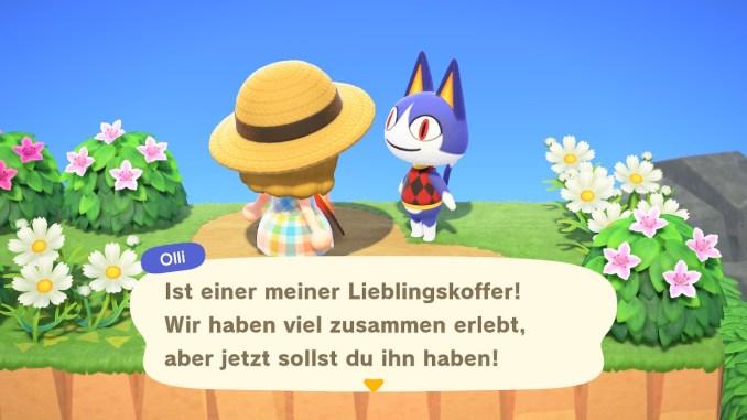 """Das Bild zeigt Olli, der Stammgast im Café in """"Animal Crossing: New Horizons"""" werden soll."""