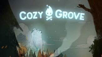 """Das Bild zeigt das Logo von """"Cozy Grove""""."""