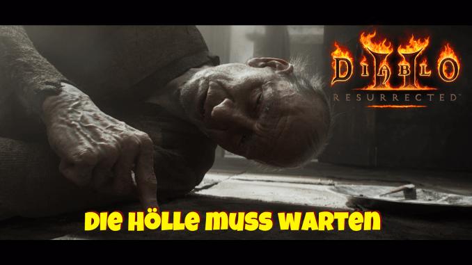 Das bild zeigt Marius aus dem Intro von Diablo II Resurrected