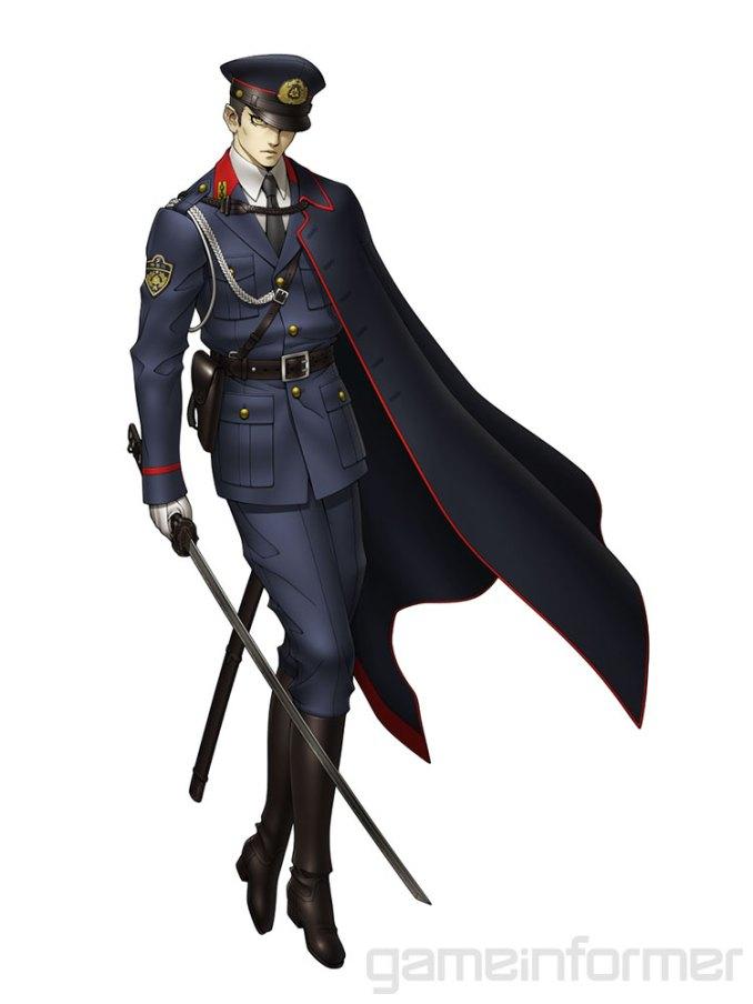 """Das Bild zeigt ein Charaktermodel aus dem Spiel """"in Megami Tensei V""""."""
