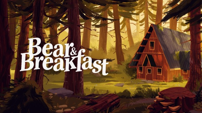 """Das Bild zeigt das Logo des Spieles """"Bear and Breakfast""""."""