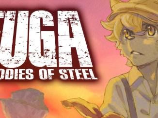 """Das Bild zeigt das Logo von """"Fuga: Melodies of Steel""""."""
