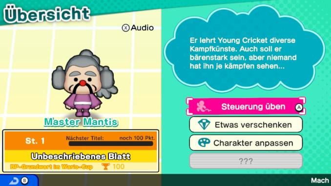 """Das Bild zeigt einen Charakter aus dem Spiel """"WarioWare: Get It Together!""""."""