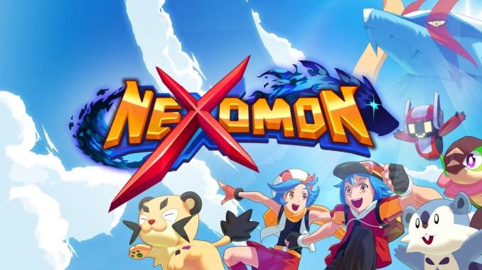 """Das Bild zeigt das Logo von """"Nexomon""""."""