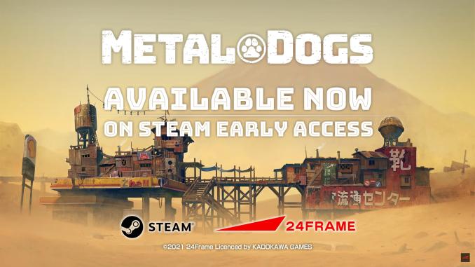 """Das Bild zeigt das Logo von """"Metal Dogs""""."""