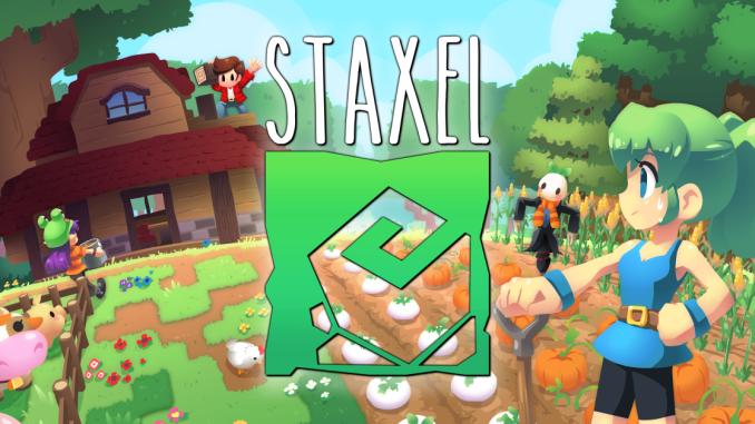 """Das Bild zeigt das Logo von """"Staxel""""."""