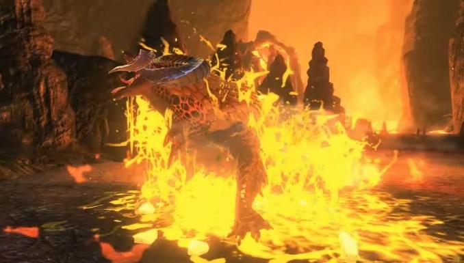 """Das Bild zeigt das Koop-Quest-exklsuive Monster Kulve Taroth in """"Monster Hunter Stories 2""""."""