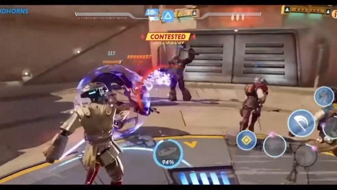 """Das Bild zeigt die Action in """"Star Wars Hunters""""."""