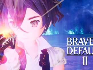 """Das Bild teugt das Logo von """"Bravely Default 2""""."""