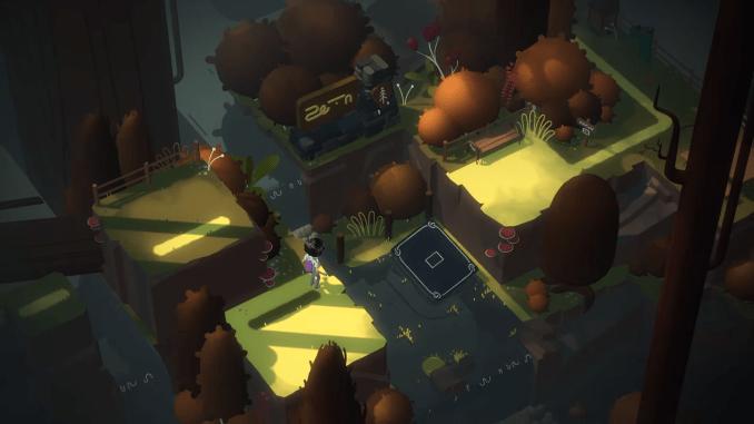 """Das Bild zeigt eine Szene aus dem Spiel """"Where Cards Fall""""."""