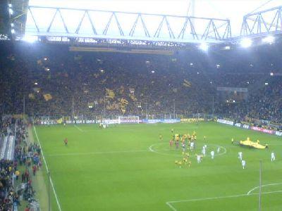 Dortmund Signal Iduna Park vor Spiel gegen Nürnberg