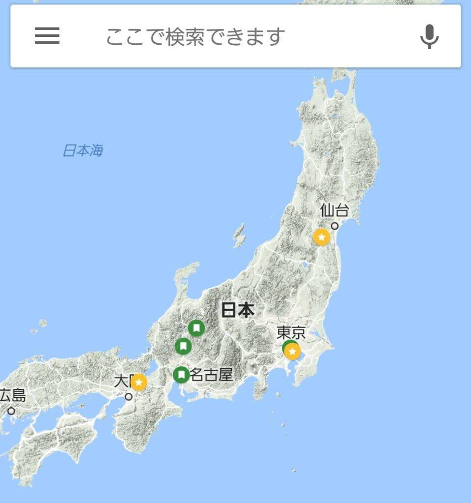 googlemap活用
