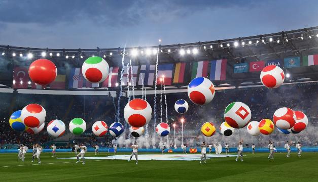 Opening de la Eurocopa