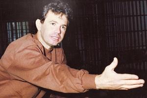 Ex-policial Florisvaldo de Oliveira, conhecido como cabo Bruno