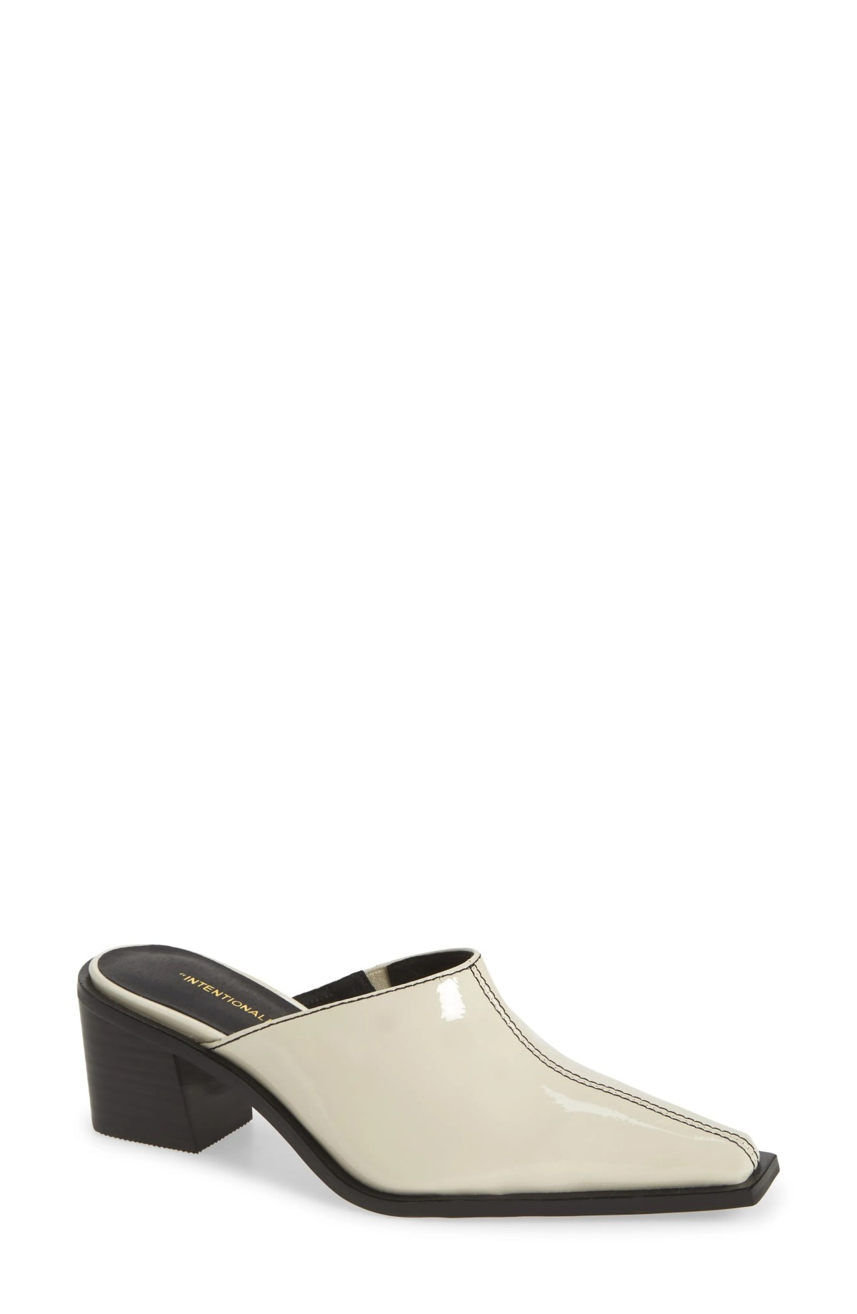 INTENTIONALLY BLANK Lala Mule, Main, color, CREAM PATENT