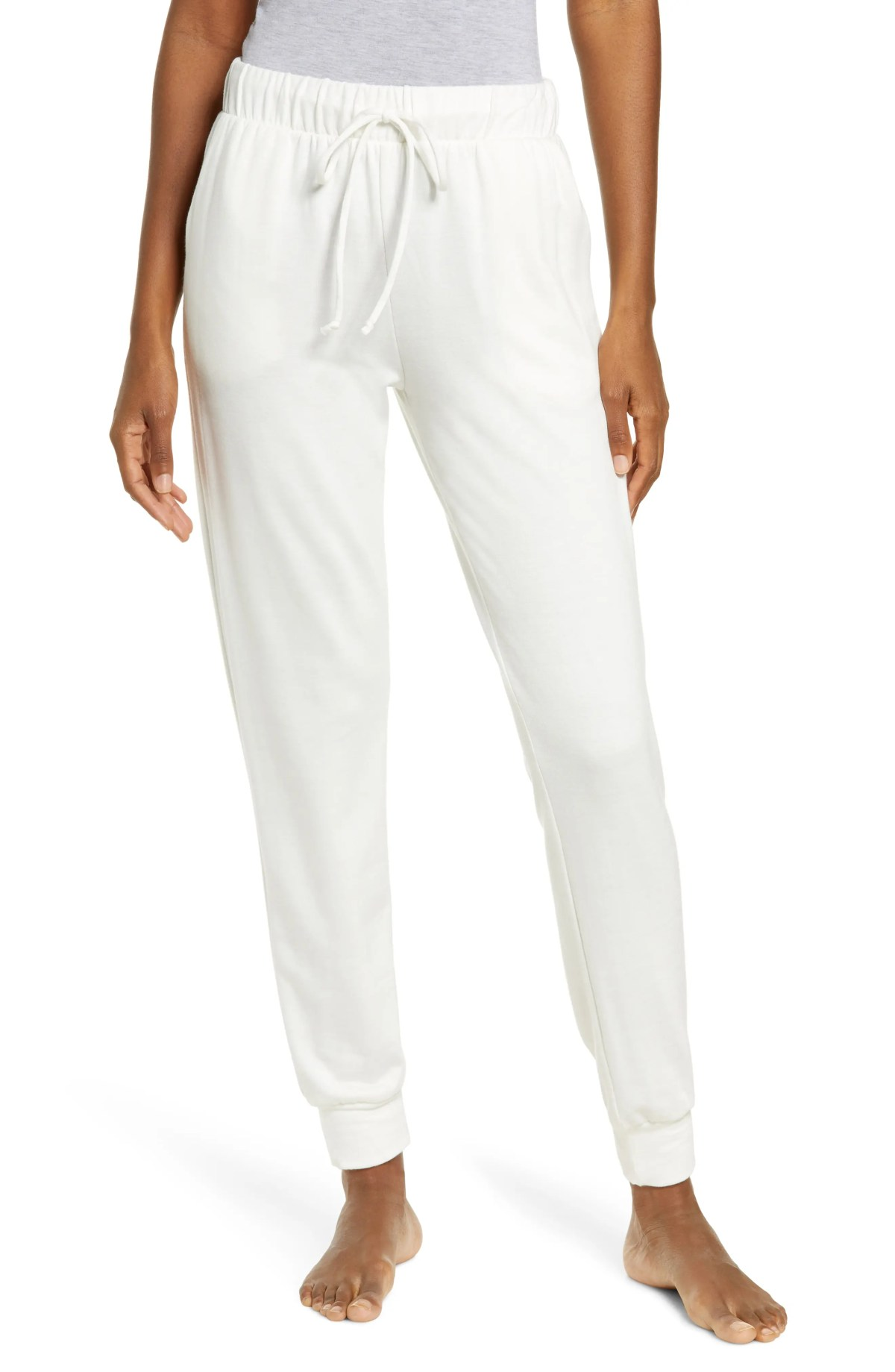 SOCIALITE Lounge Joggers, Main, color, OFF WHITE