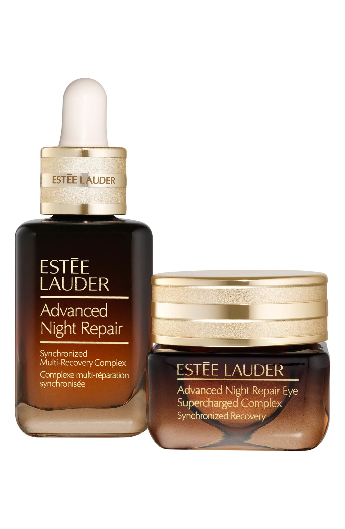 ESTÉE LAUDER Full Size Advanced Night Repair Face & Eye Duo, Main, color, NO COLOR