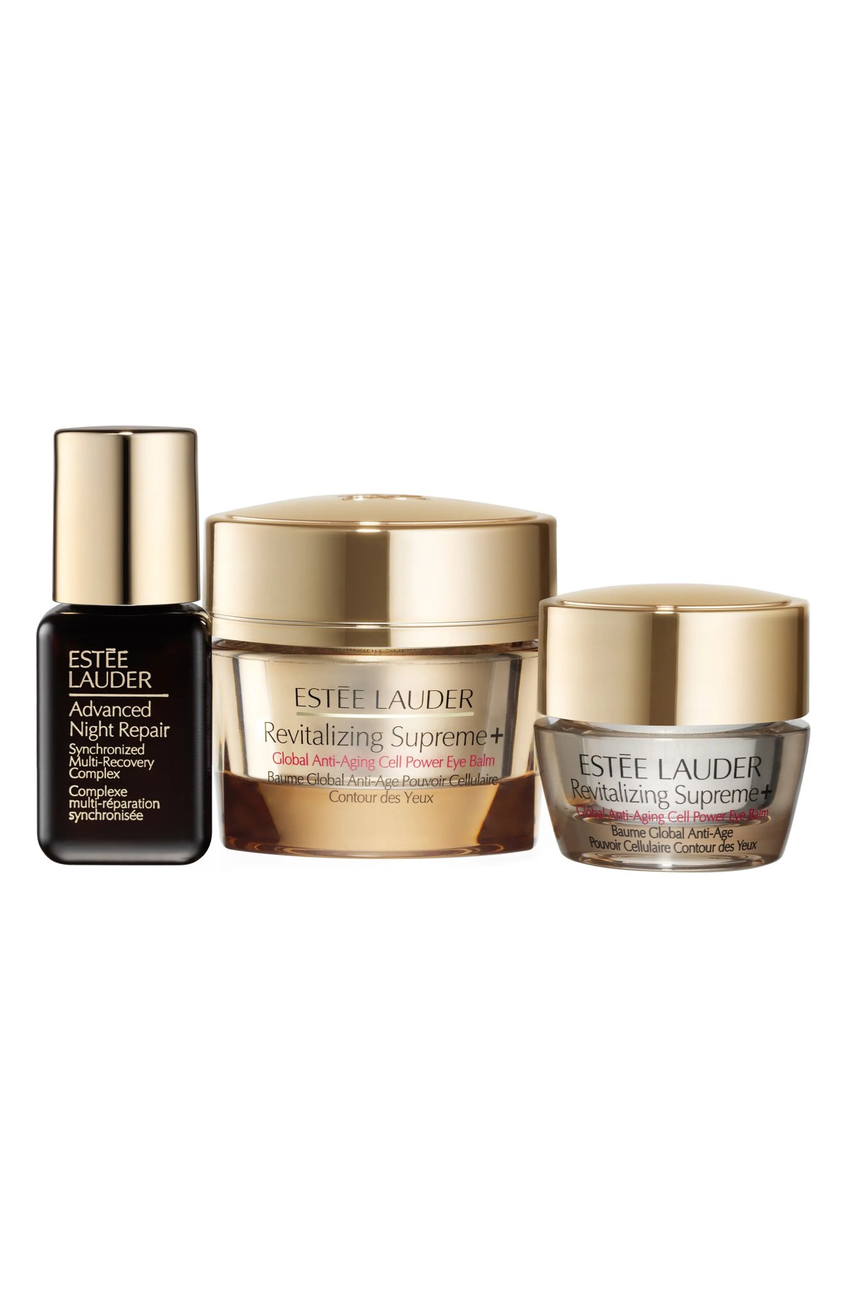 ESTÉE LAUDER Revitalizing Supreme+ Eye Balm Set, Main, color, NO COLOR