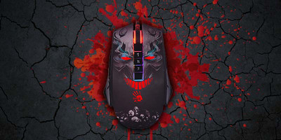 Mouse A4Tech Bloody P85 from the RGB-backlit