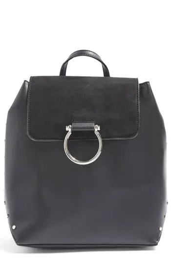 Remy Trophy Faux Leather Backpack