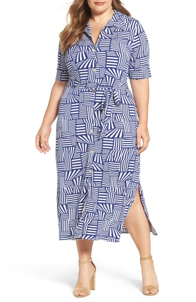 Plus size Leota Jersey Shirtdress