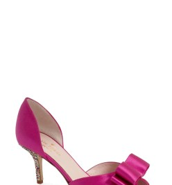 Main Image - kate spade new york 'sela' glitter heel d'orsay pump (Women)