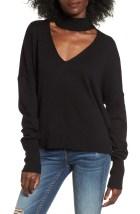 Main Image - BP. Cutout Neck Pullover