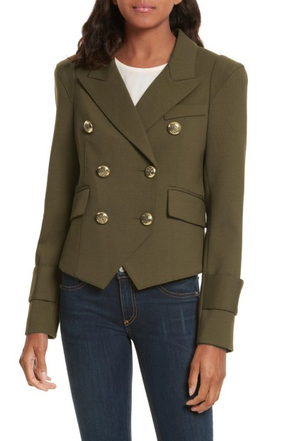 Pagoda Cadet Jacket, Main, color, Army