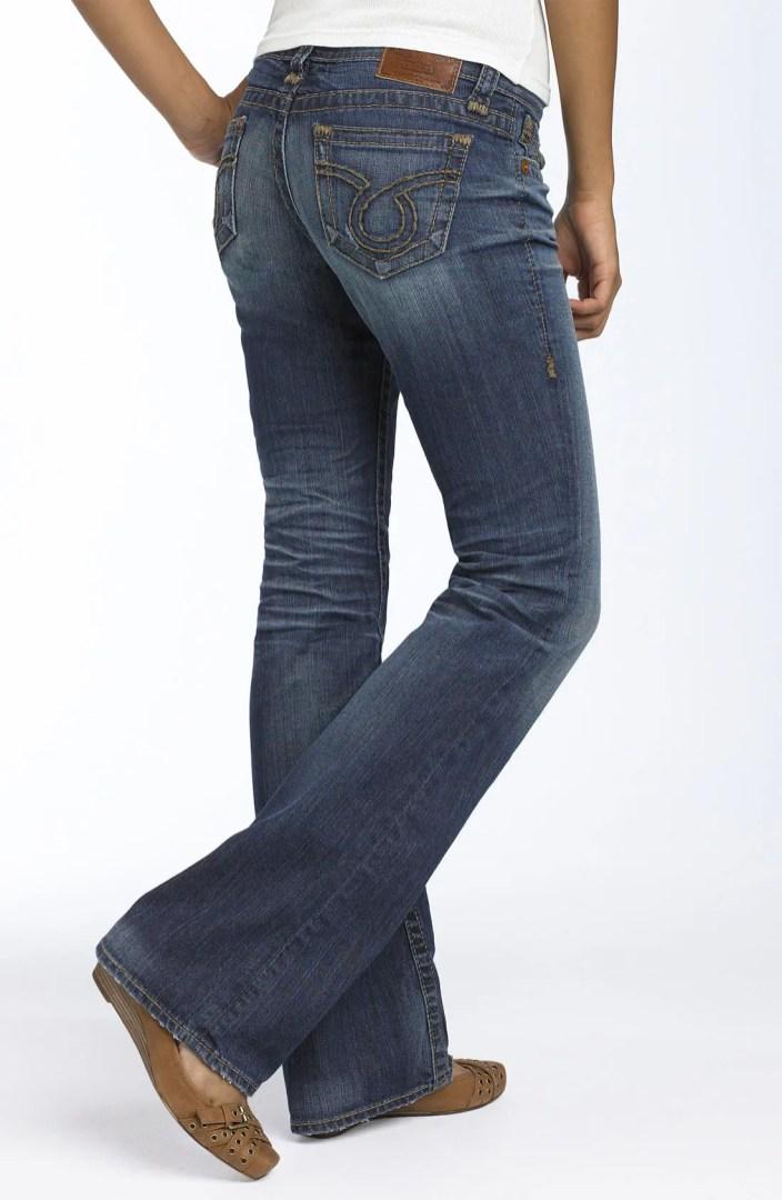 Big Star Liv Low Rise Bootcut Stretch Jeans Juniors