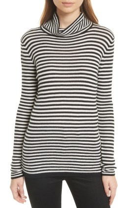 Main Image - Soft Joie Zelene Stripe Cowl Neck Sweater