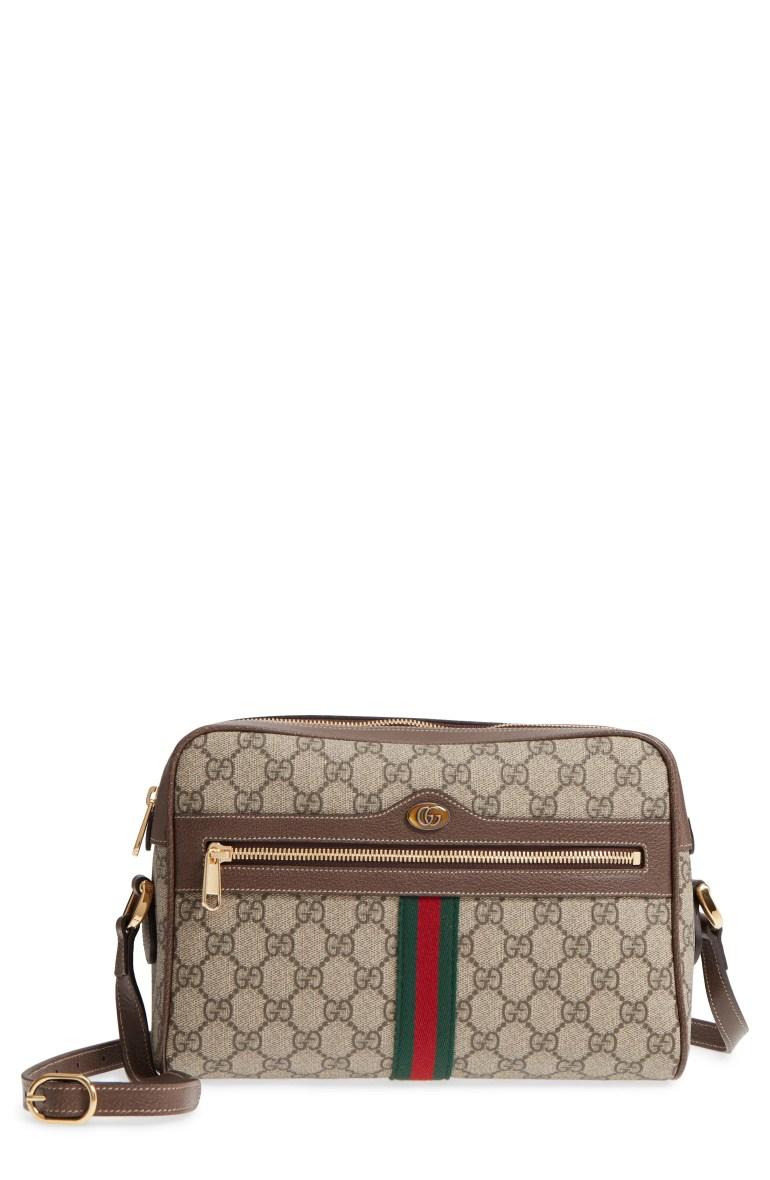 Gucci Ophidia GG Supreme Canvas Crossbody Bag