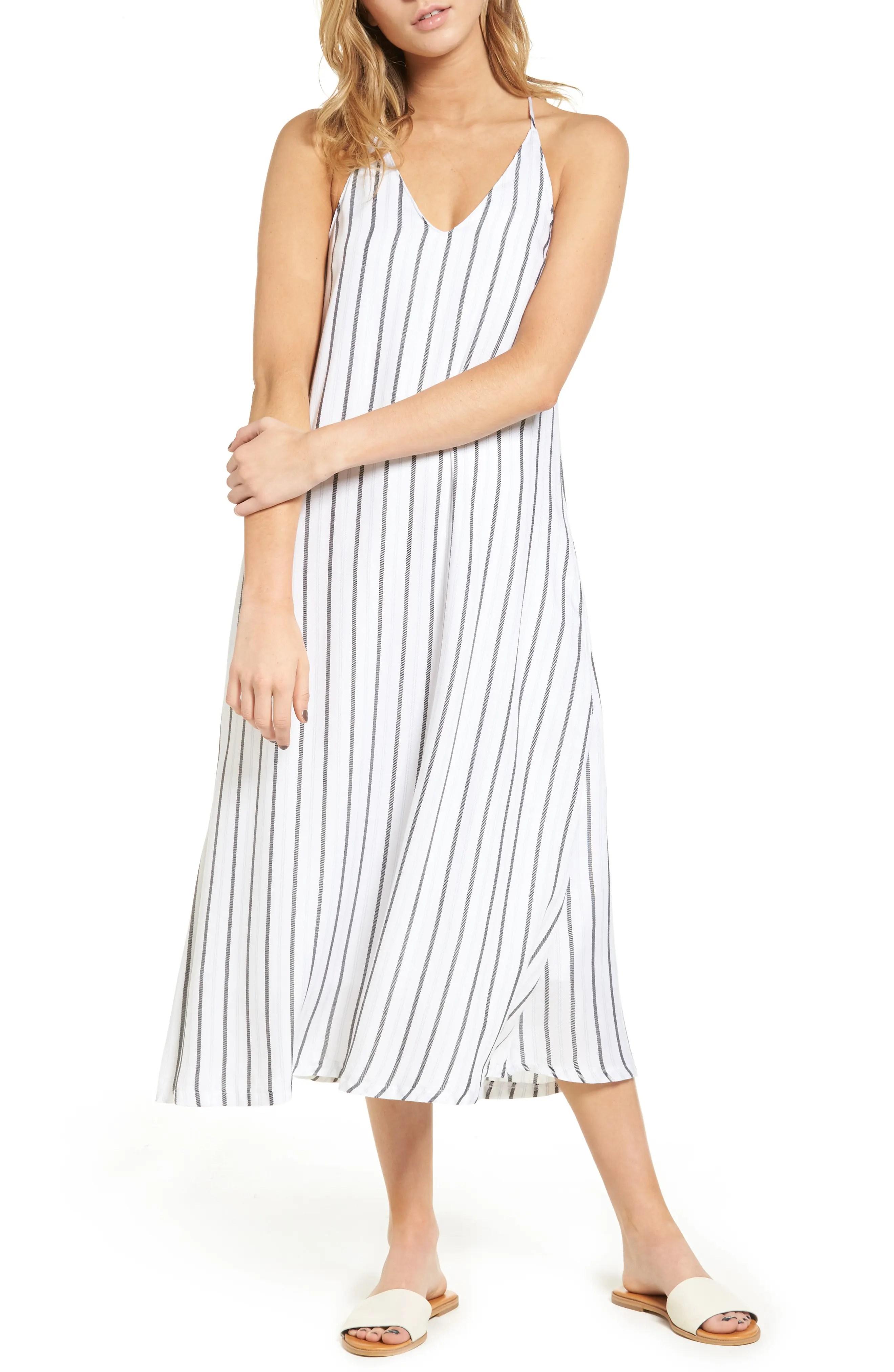 Main Image - Mimi Chica Stripe Slipdress